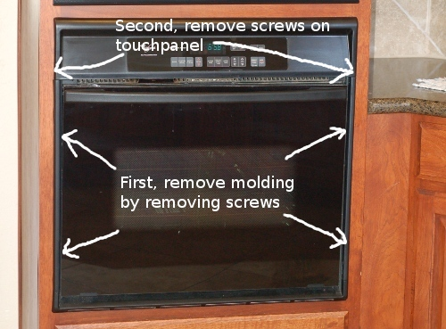 How to Remove A Whirlpool Oven Control Board | Whirlpool Wall Oven Wiring Diagrams |  | The Circuit -Official Blog of FixYourBoard.com