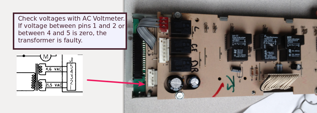 Dead GE Double Oven: Transformer or Control Board? - The Circuit Ge Wall Oven Wiring Harness on